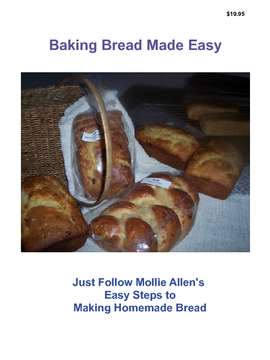 Baking Bread Made Easy