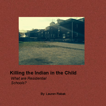 Killing the Indian in the Child