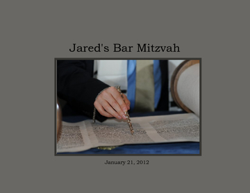 Jared's Bar Mitzvah