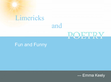 Limericks and poems