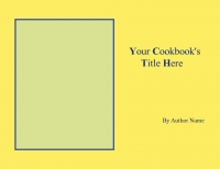 Anne's cookbook