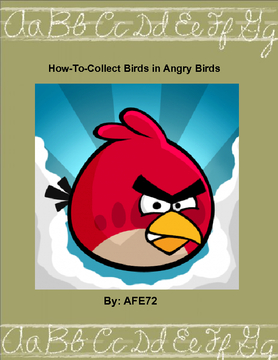 How-To-Collect Birds in Angry Birds
