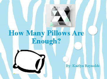 How Many Pillows Are Enough?