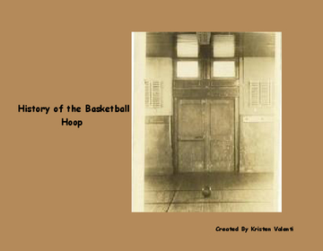History of the Basketball Hoop