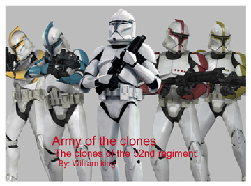 Army of the clones