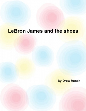 Lebron James and the shoes