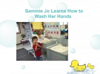 Sammie Jo Learns How to Wash Her Hands