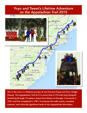 Yoyo and Tweet's Appalachian Trail Adventure