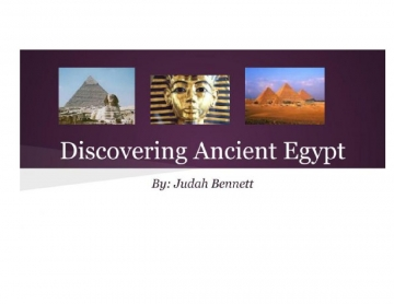 Ancient & Modern Egypt Revealed: DNA, Culture, Progress, & Modernization