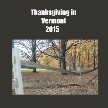 Thanksgiving in Vermont