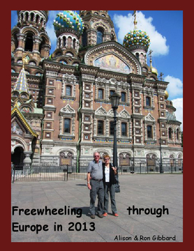Freewheeling through Europe in 2013
