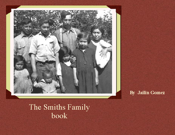 The Smiths Family Book