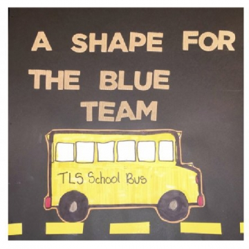 A Shape For The Blue Team