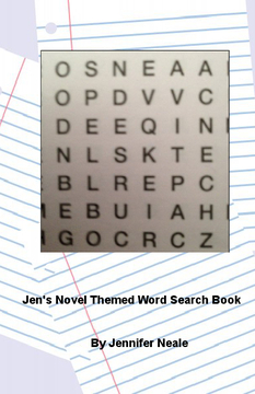 Jen's Novel Themed Word Search Book