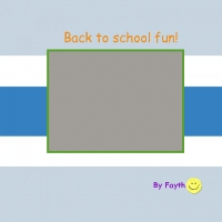 Back to school fun!