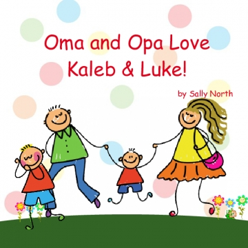Oma and Opa Love Kaleb & Luke!
