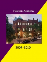 Halcyon Academy Yearbook