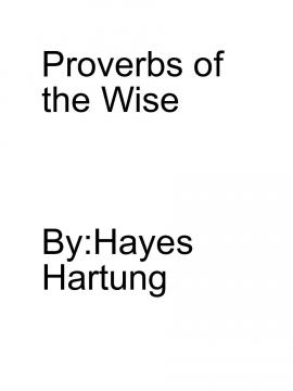 Proverbs of the Wise