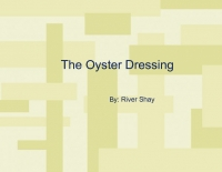 The oyster dressing