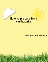 How to prepare in a earthquake