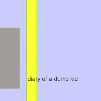 diary of a dumb kid