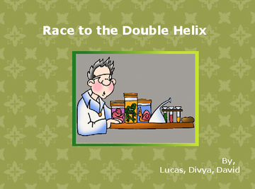 The Race to the Double Helix
