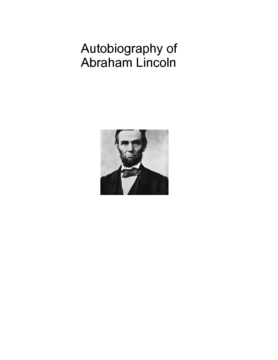 Journal on Abraham Lincoln