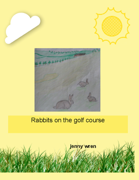 Rabbits on the golf course