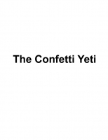 The Confetti Yeti