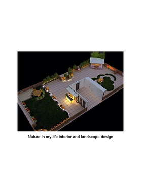 Interior and landscape design