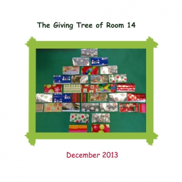 The Room 14 Giving Tree