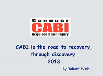 Conquer Acquired Brain Injury 2013