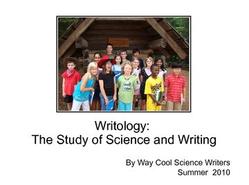 Writology: The Study of Science and Writing
