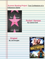 True Confessions of a Hollywood Starlet: Kid Version