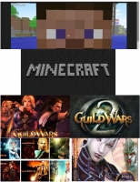 MineCraft VS. Guild Wars