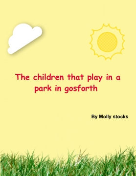 The children in the park in Gosforth