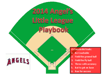 Angel's Baseball Playbook
