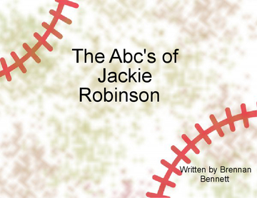 The Abc's of Jackie Robinson
