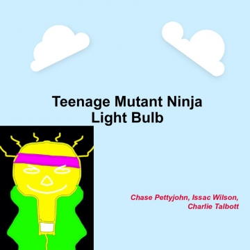 Teenage Mutant Ninja Light Bulb