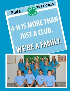 Buda 4-H Yearbook 2014-2015