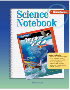 Glencoe:Science Notebook-Florida science, grade 6
