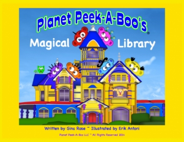 Planet Peek-A-Boo's Magical Library
