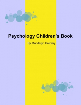 Psychology Children's Book