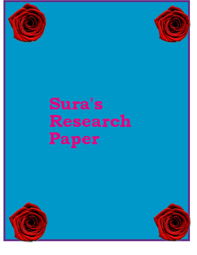 Sura's Research Paper