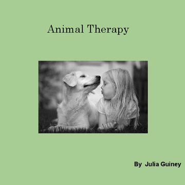Animal Therapy with children