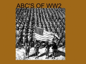 ABC's of World War 2
