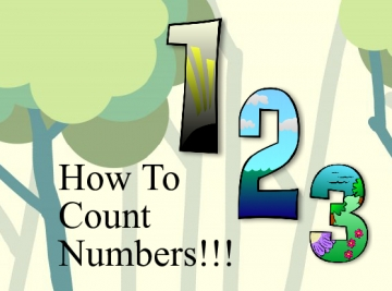 how to count numbers!!!!!