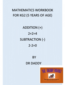 maths workbook FOR KG2-2