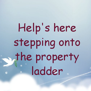 Help's here stepping onto the property ladder