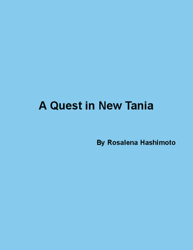 The Quest in New Tania